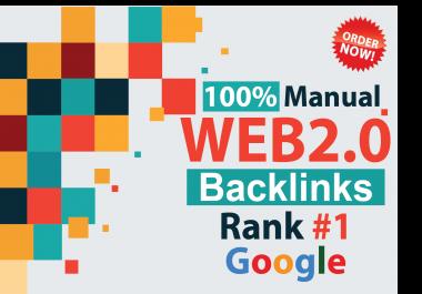 Manually 20 High Authority Web 2.0 Backlinks