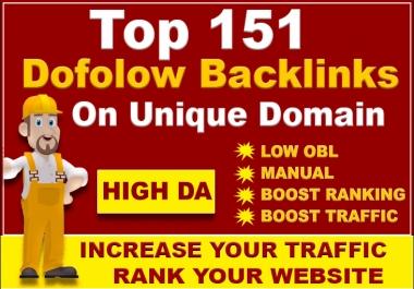 Provide Manual 151 Blog Comment Dofollow Seo Backlinks On Unique Domain