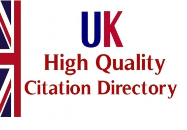 submit your site to 45 UK citation dofollow  and high page rank web directory in relavant category