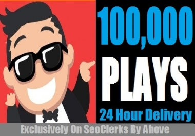 Boost Your Track By 100000 Plays Instant