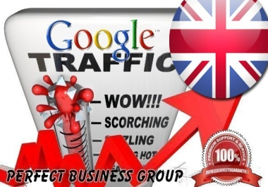 Organic traffic from Google.co.uk (United Kingdom) with your Keyword
