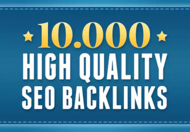 build 10000 GSA Ser backlinks for seo ranking