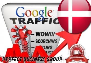 I send 1000 visitors via Google.dk by Keyword to your website
