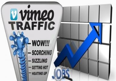 Social Traffic from Vimeo