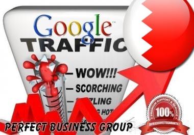 I send 1000 visitors via Google.com.bh by Keyword to your website