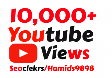 Providing 5000+ High Quality YouTube Vie ws