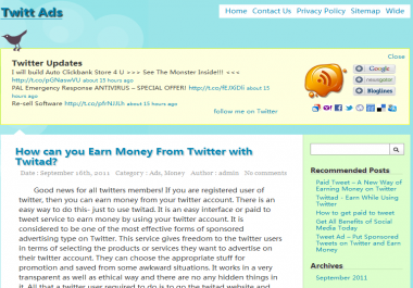 put your link and anchor for 1 year on my twitter blog