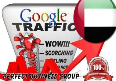 I send 1000 visitors via Google.ae Keyword to your website