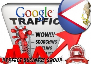 Organic visitors via Google.as Keyword to your website