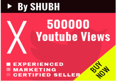 Add 500000 Youtube Views