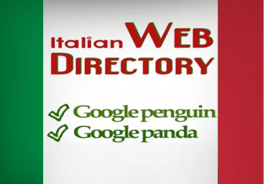 do 50 Italian Web Directory Submissions