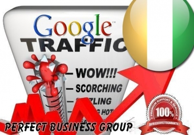 Organic traffic from Google.ci (Côte d'Ivoire) with your Keyword