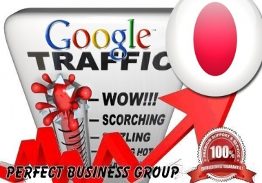 Organic traffic from Google.co.jp (Japan) with your Keyword