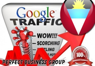 Organic traffic from Google.com.ag (Antigua and Barbuda) with your Keyword