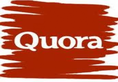 create 10 high quality relevant Quora answers with your link attatched