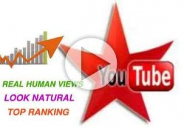 give you 3033++ you-tube views in 2 days Fast and SAFE can SPLIT and BONUS 30 like