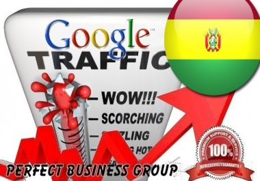 Organic traffic from Google.com.bo (Bolivia) with your Keyword