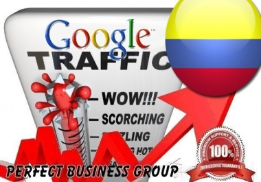Organic traffic from Google.com.co (Colombia) with your Keyword