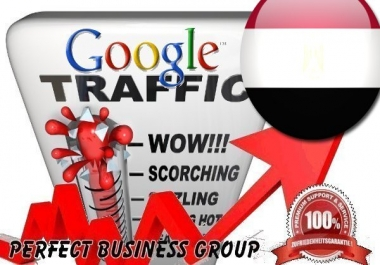Organic traffic from Google.com.eg (Egypt) with your Keyword