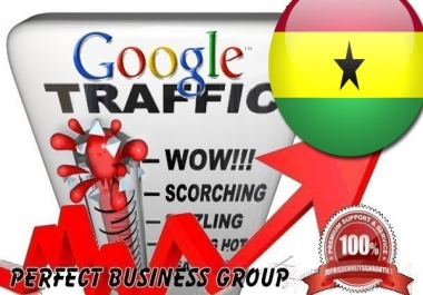 Organic traffic from Google.com.gh (Ghana) with your Keyword
