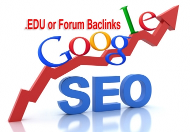 100 .EDU or Forum profiles backlink