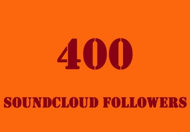 Give you 500+ SoundCloud Followers OR Likes in 24-48 Hours