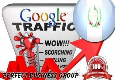 Organic traffic from Google.com.gt (Guatemala)