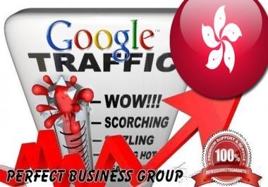 Organic traffic from Google.com.hk (Hongkong)