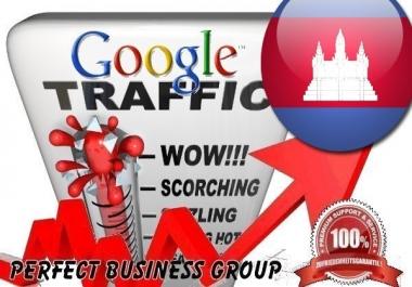 Organic traffic from Google.com.kh (Cambodia)