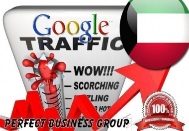 Organic traffic from Google.com.kw (Kuwait)