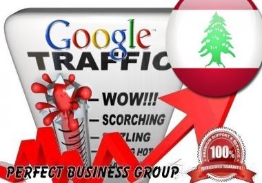 Organic traffic from Google.com.lb (Lebanon)