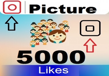 Add 5000 Picture likes on 10 Links