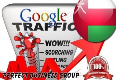 Organic traffic from Google.com.om (Oman)