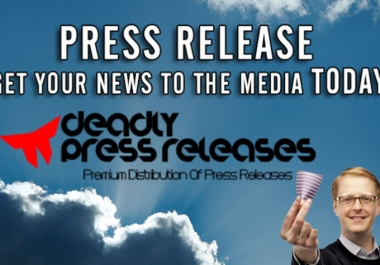 I will write a Press Release and post it online for backlinks and media attention @!@