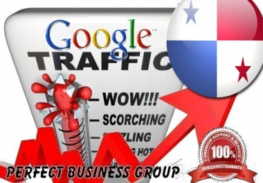 Organic traffic from Google.com.pa (Panama) with your Keyword