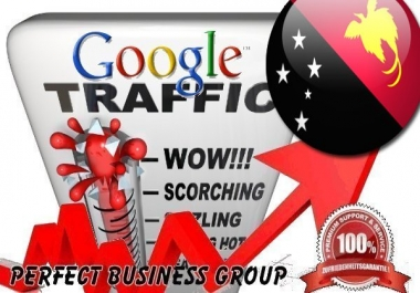 Organic traffic from Google.com.pg (Papua New Guinea) with your Keyword