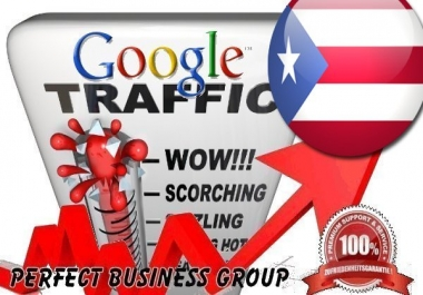 Organic traffic from Google.com.pr (Puerto Rico) with your Keyword