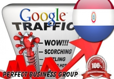 Organic traffic from Google.com.py (Paraguay) with your Keyword