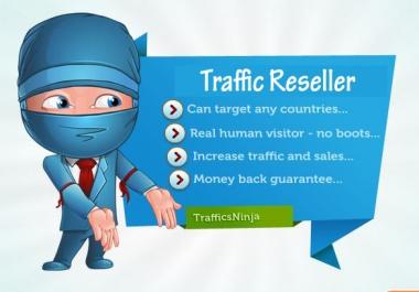 SUPER DUPER DEAL - Become a Website Traffic Reseller in 24 hours + 2000 Targeted Traffic
