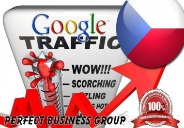 Organic traffic from Google.cz (Czech Republic) with your Keyword