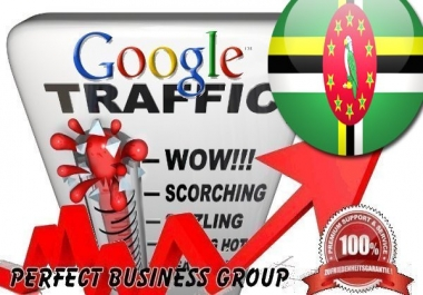 Organic traffic from Google.dm (Dominica) with your Keyword