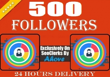Start Instant 500 Followers To Your Social Profile