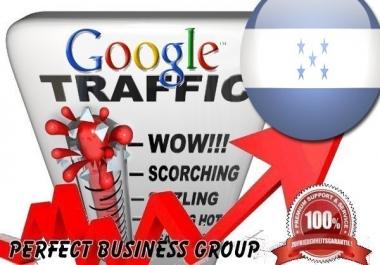 Organic traffic from Google.hn (Honduras) with your Keyword