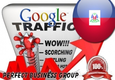 Organic traffic from Google.ht (Haiti) with your Keyword