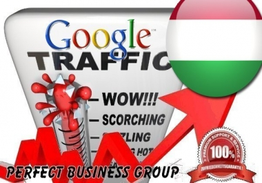 Organic traffic from Google.hu (Hungary) with your Keyword