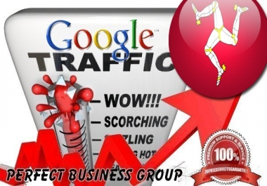 Organic traffic from Google.im (Isle of Man) with your Keyword