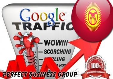 Organic traffic from Google.kg (Kyrghyzstan) with your Keyword