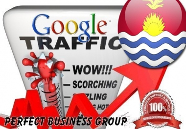 Organic traffic from Google.ki (Kiribati) with your Keyword