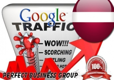 Organic traffic from Google.lv (Latvia) with your Keyword