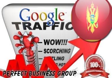 Organic traffic from Google.me (Montenegro) with your Keyword
